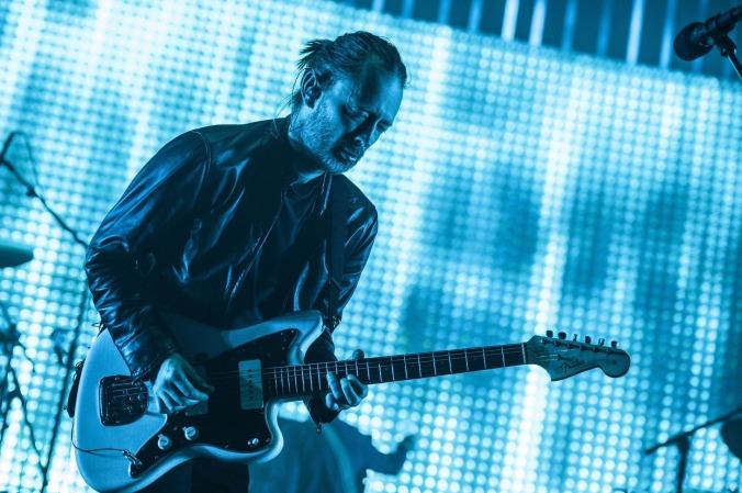 Radiohead Thom Yorke guitar