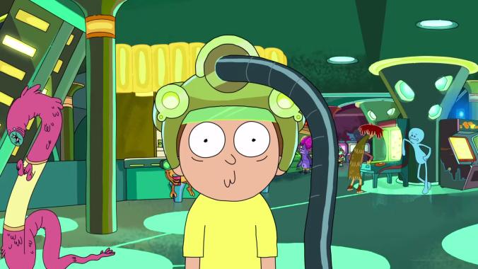 Rick Morty game