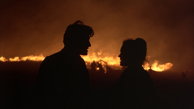 Days of Heaven fire