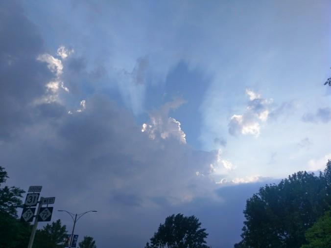 Traverse City sky